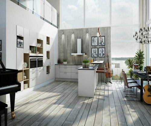 流行欧式风格别墅厨房装修效果图
