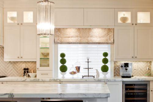 厨房橱柜白色欧式风格装修实景图
