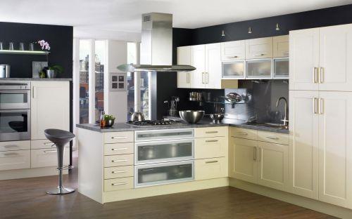 欧式风格家居厨房橱柜装修实景图