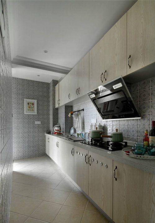 田园风格六居室厨房灯具装修图片