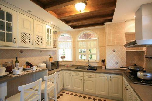 温馨田园风两居室厨房