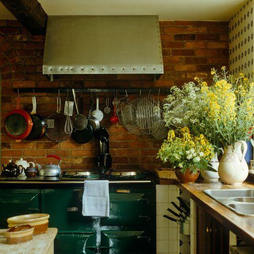 潮范儿田园风格厨房装修设计