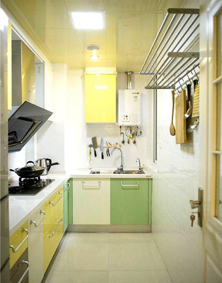 田园风格家居厨房橱柜装修实景图