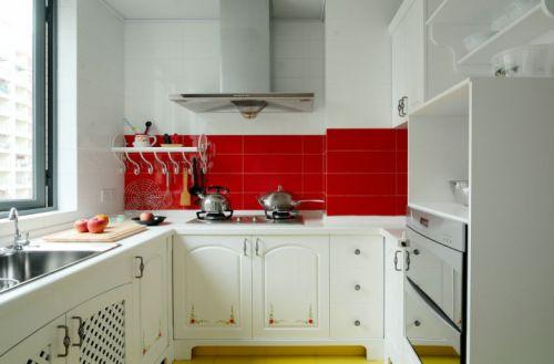 田园风格三居室厨房装修图片欣赏