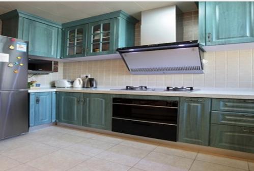田园风格二居室厨房装修效果图欣赏