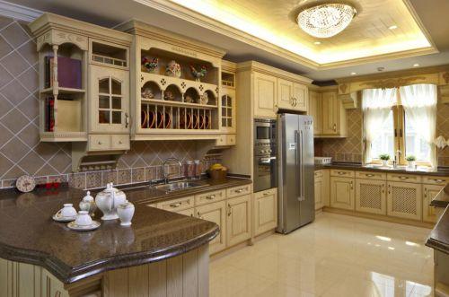 田园风格五居室厨房装修效果图大全