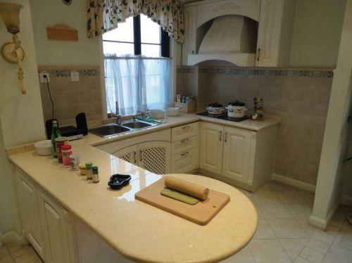 田园风格二居室厨房装修效果图大全