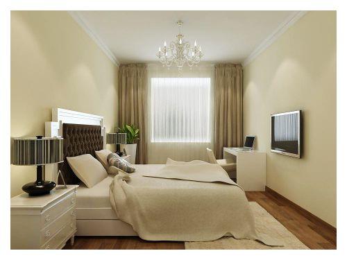 现代简约二居室卧室隔断装修效果图欣赏