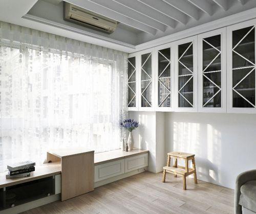 清新现代简约风格舒适卧室设计效果图
