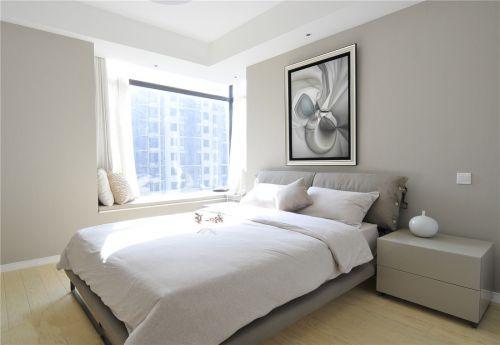 时尚现代风格卧室飘窗效果图
