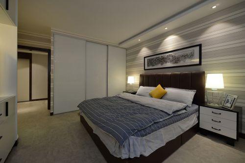 时尚现代风格卧室隔断效果图欣赏