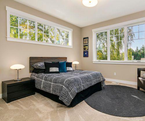现代简约风格个性卧室装修效果图