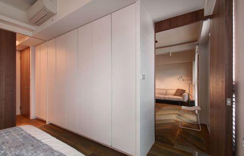 时尚现代风格公寓卧室隔断效果图欣赏