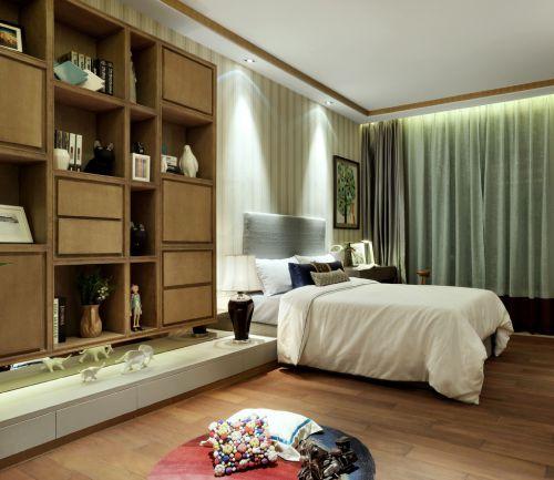 时尚现代风格五居室卧室装修效果图