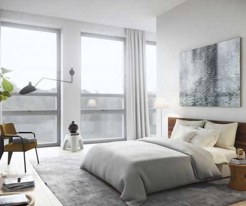 现代简约风格舒适温馨卧室美图