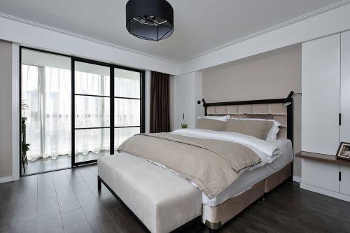 现代风格四居室主卧室效果图大全