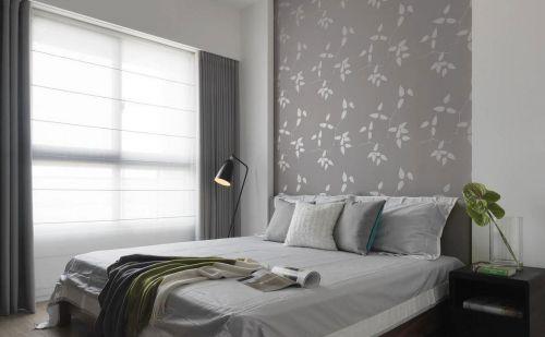 时尚现代风格卧室背景墙效果图欣赏