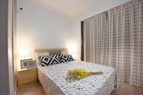 现代简约小户型家装卧室装修图片