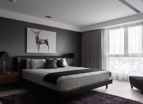 时尚质感现代简约风格卧室设计效果图