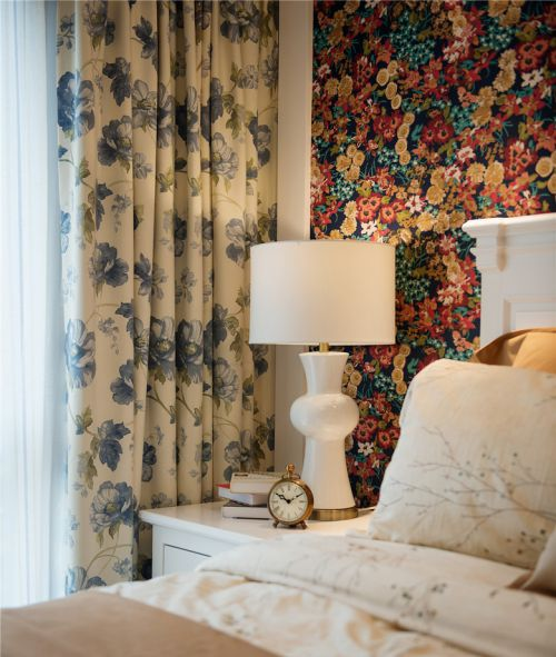 时尚现代风格卧室灯具装修案例