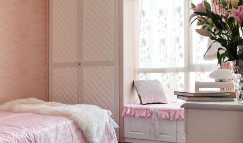 清新现代简约风格卧室衣柜装修案例