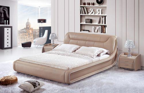 三居室现代简约卧室床头柜装修效果图