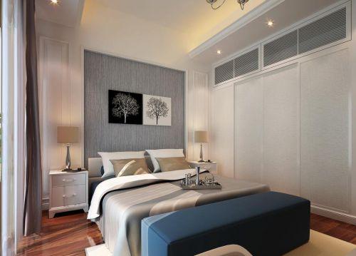 现代简约风格公寓卧室衣柜组合柜装修设计