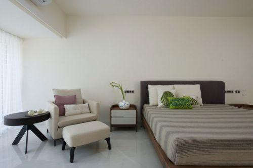 温馨舒适现代风格小资情调卧室装修图片