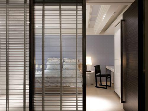 现代风格个性空间卧室装修实景图