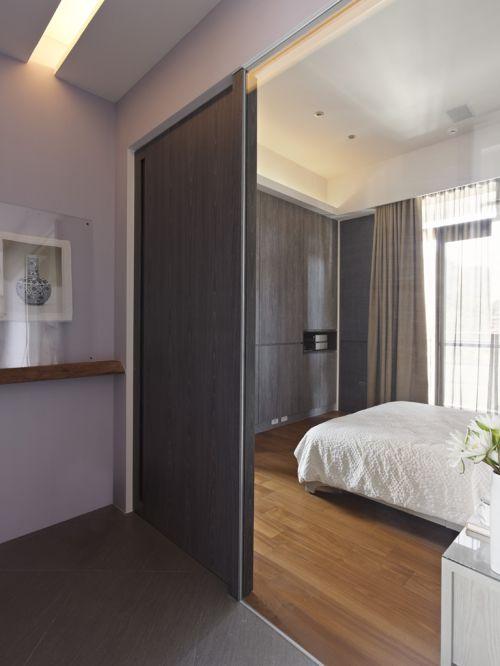 雅致创意现代风格卧室装修实景图