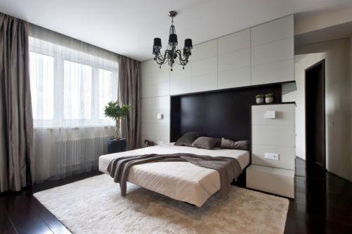 现代风格简洁时尚卧室装修效果图