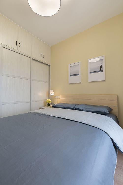 纯朴现代风格卧室装修实景图