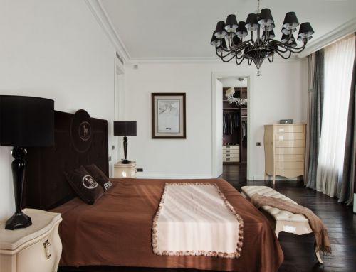 个性暖意现代风格卧室灯具装修设计