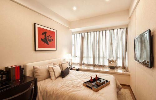 温情简洁现代风格卧室装修图片