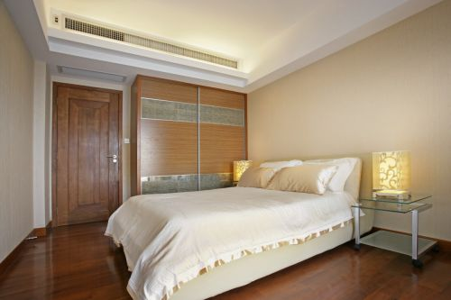 暖意现代风格简约卧室装修设计
