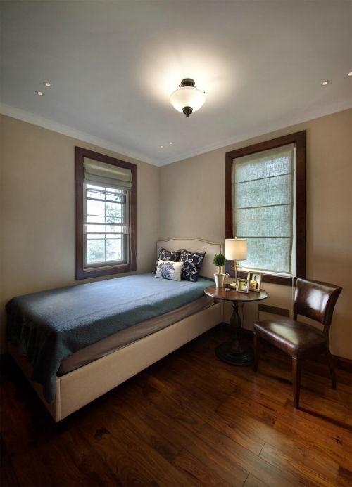 时尚暖意现代简约风格卧室装修图片