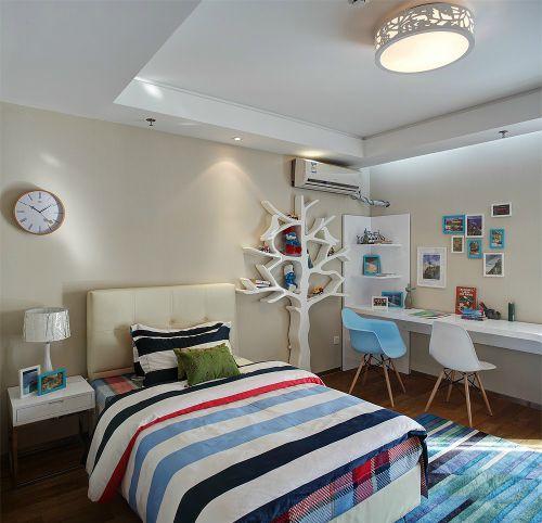 现代简约四居室卧室装修效果图大全