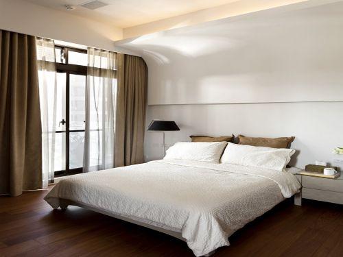 现代简约三居室卧室衣柜装修效果图欣赏