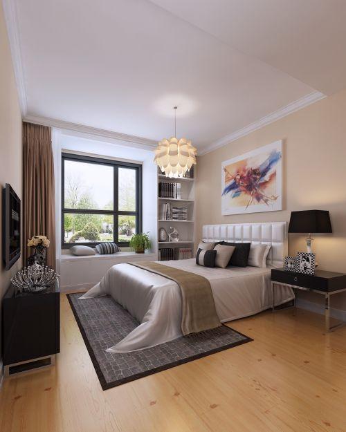 现代简约三居室卧室榻榻米装修效果图欣赏