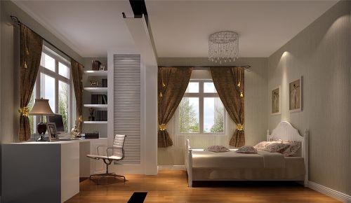 现代简约三居室卧室装修效果图