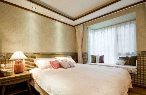 现代简约一居室卧室装修图片欣赏