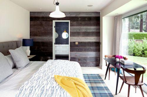 清新浪漫简欧风格别墅卧室装修图片