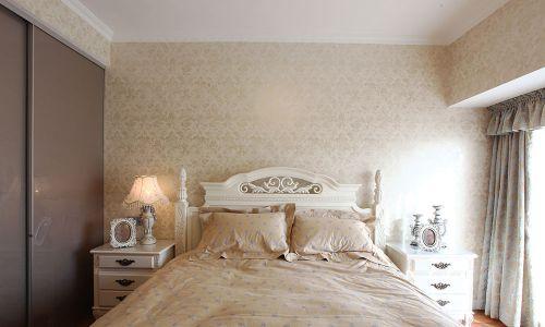 时尚简欧风格小户型卧室装修案例