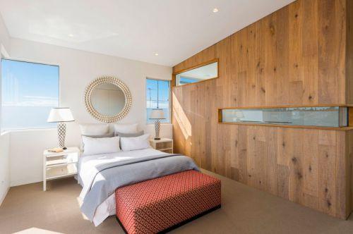 简欧风格明朗卧室床头柜设计图