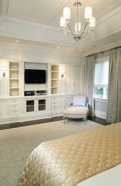 简欧风格大面积卧室飘窗装修效果图