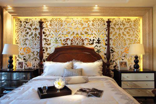 时尚简欧风格卧室装修效果图