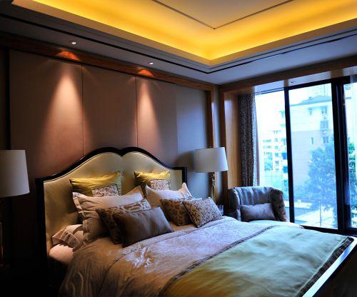 简欧风格四居室卧室飘窗装修效果图欣赏