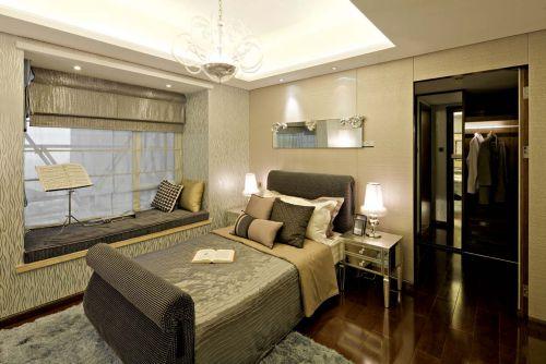 高雅精致简欧风格卧室效果图