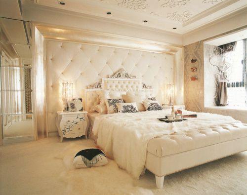 简欧风格一居室卧室装修效果图欣赏