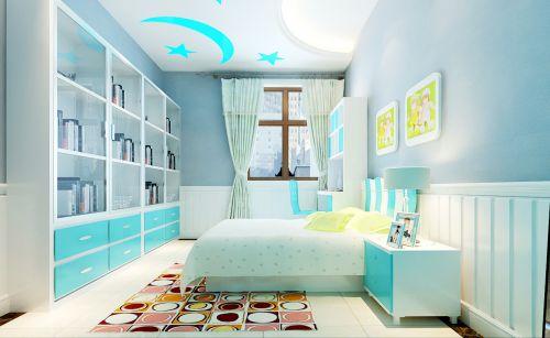 简欧风格五居室卧室床装修效果图大全